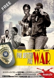 movieposter for better for war